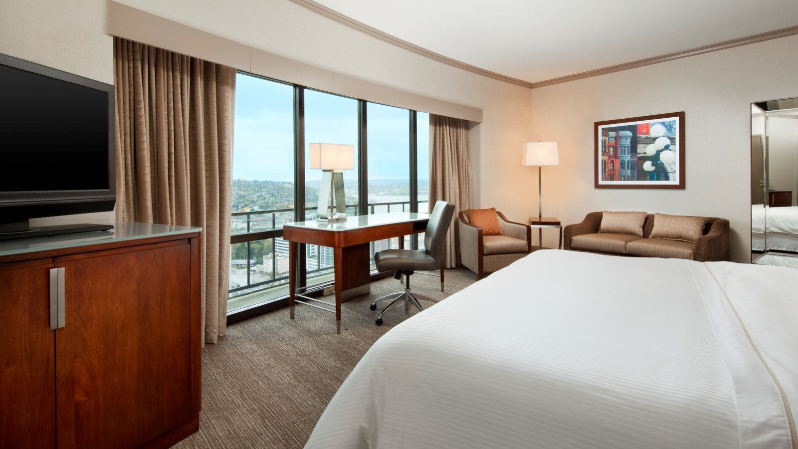 Premium City View Rooms