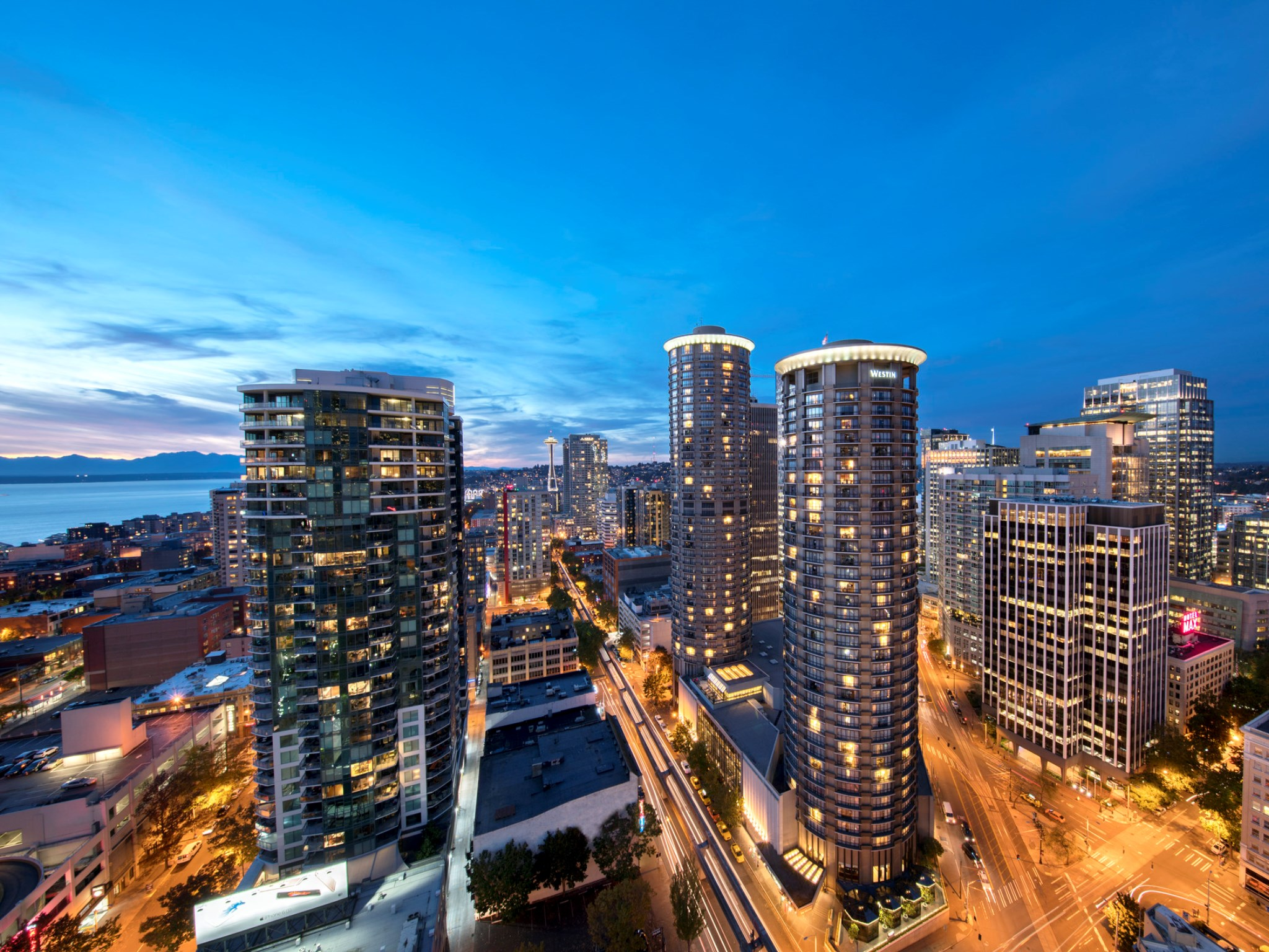 Downtown Seattle Hotel Business Leisure Travel The Westin